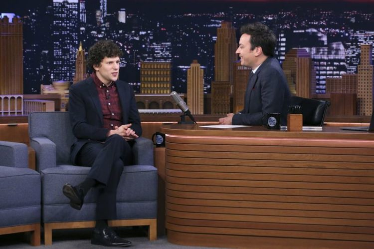 Jesse Eisenberg talks Zombieland with Jimmy Fallon
