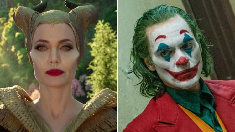 Joker Narrowly Reclaims The Top Spot From Maleficent: Mistress Of Evil