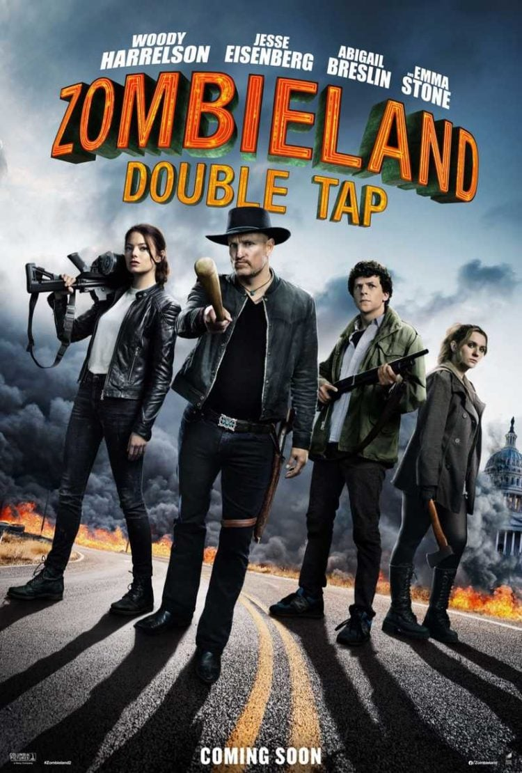 zombieland: double tap one sheet