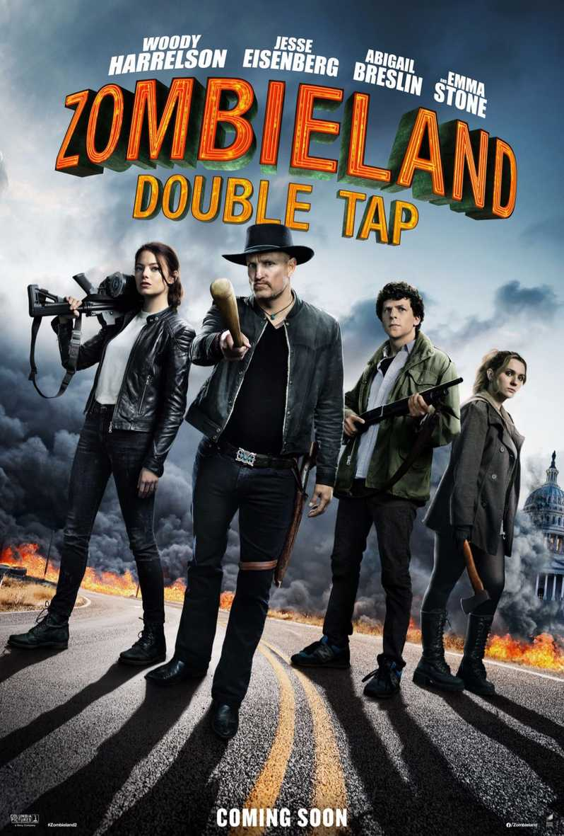 zombieland: double tap one sheet weekend box office