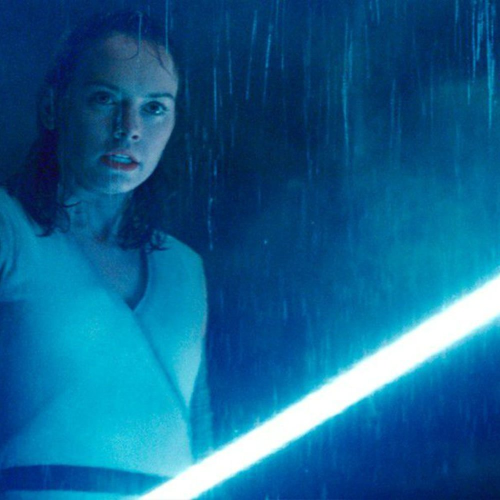 Daisy Ridley as Rey in The Last Jedi