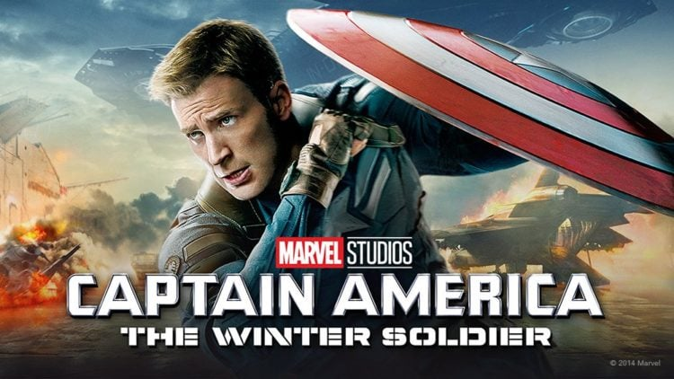 Captain America: The Winter Soldier one sheet