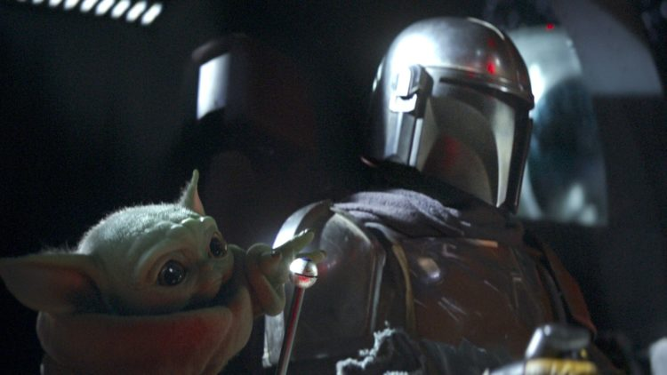 Star Wars The Mandalorian with Baby Yoda