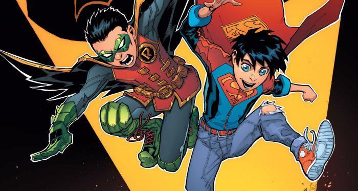 Superboy And Robin (aka Damien Wayne)
