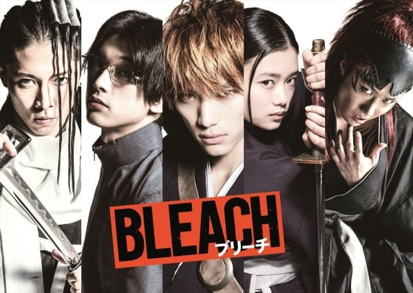 Bleach cast