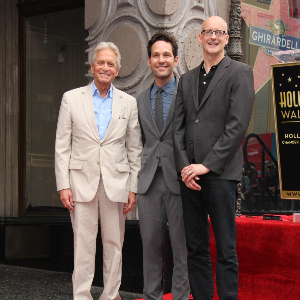 Michael Douglas, Paul Rudd, Peyton Reed slider image