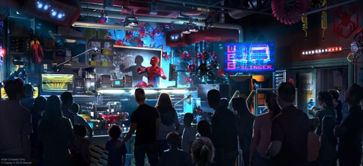 Spider-Man And The Avengers Come To Disney's California Adventure In 2020
