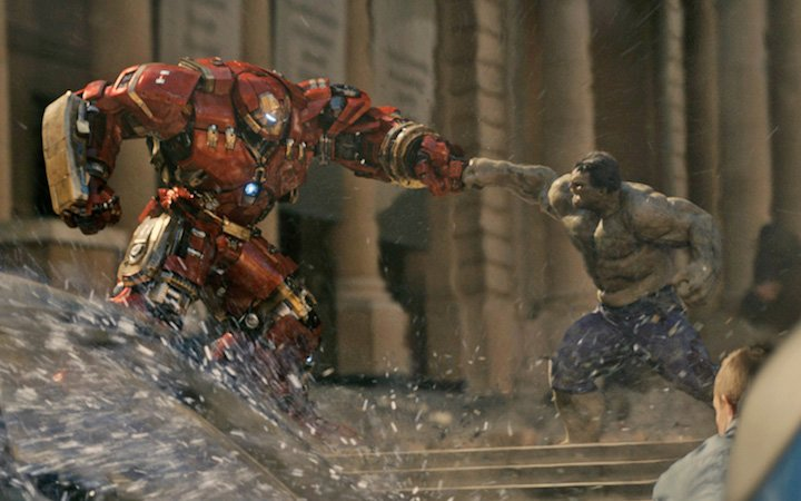 top-10-comic-book-fights-of-the-decade-in-film Hulk vs Iron Man in the Hulk buster suit