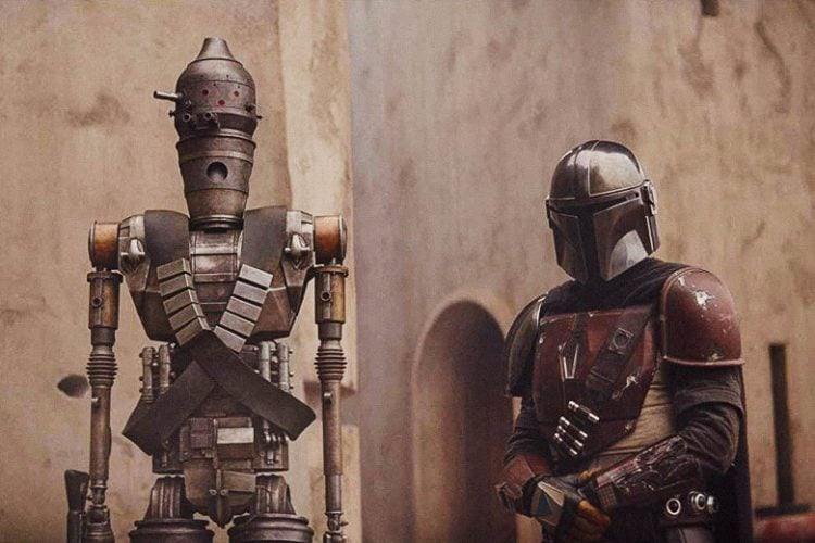 The Mandalorian with IG 11