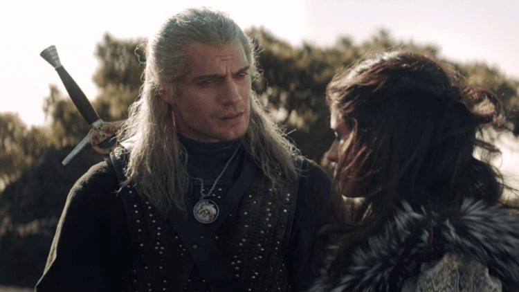 The Witcher geralt and yennifer