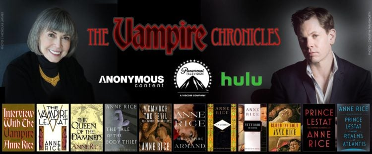 Anne Rice's 'The Vampire Chronicles' Is No Longer Bound For Hulu