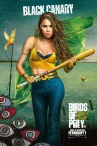 Birds Of Prey poster Black Canary