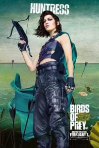 Birds Of Prey poster The Huntress