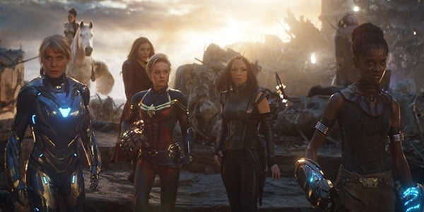 The ladies of A-Force in Avengers Endgame