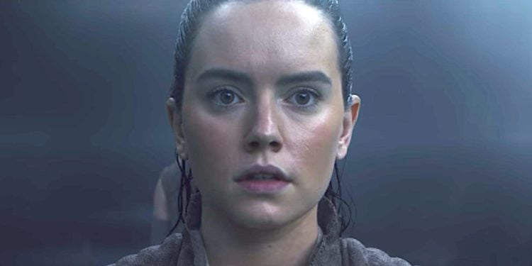 Daisey Ridley as Rey in Star Wars: The Rise of Skywalker