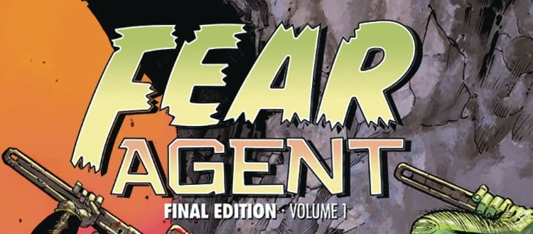 Fear Agent comic cover