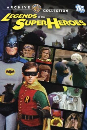 Legends of the Superheroes DVD cover