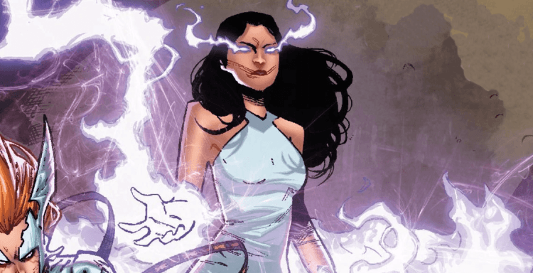 image of Sera from the comics
