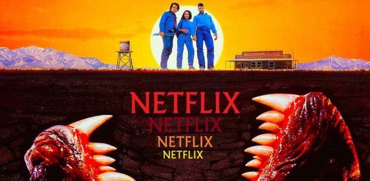 Tremors is now on Netflix