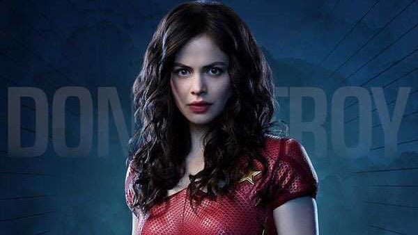 Titans Donna Troy character poster