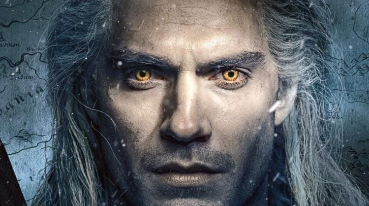 The Witcher Henry Cavill concept art
