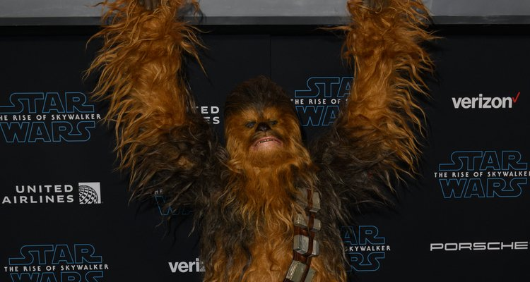 chewbacca star wars Rise of Skywalker