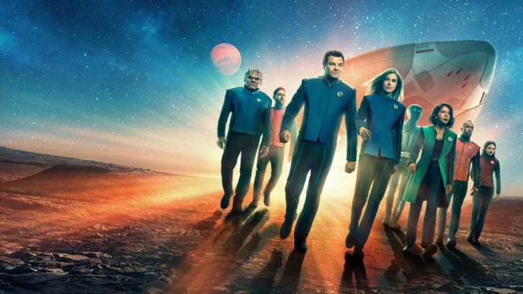 The Orville cast concept art