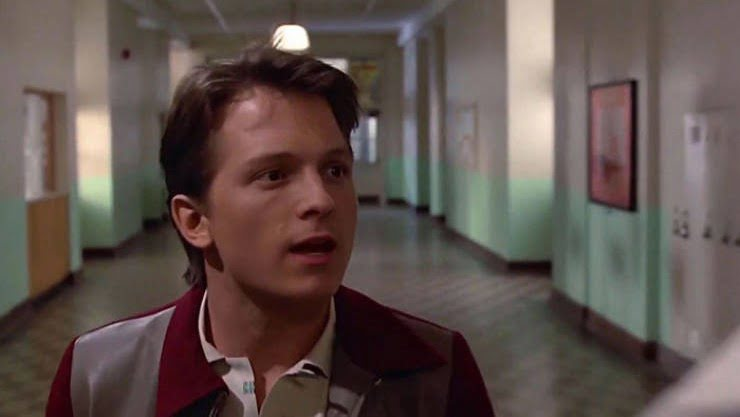 Tom Holland as Marty McFly in deep fake video of Back to the Future
