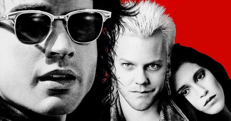 The Lost Boys poster slice