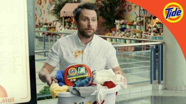 Charlie Day in Wonder Woman 1984 Tide Commercial
