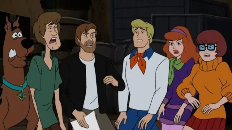 Watch 3 Minutes Of Mark Hamill S Guest Appearance On Scooby Doo And Guess Who S2