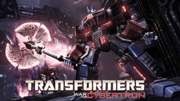 Transformers: War For Cybertron - Seige title screen