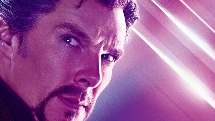 Doctor Strange In The Multiverse Of Madness poster slice