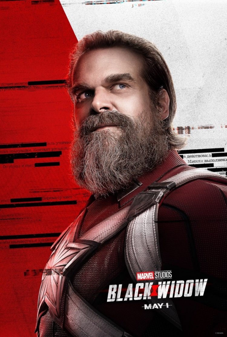David Harbour as Alexei Shostakov/Red Guardian in Black Widow