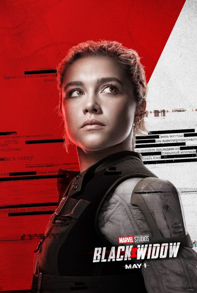 Florence Pugh as Yelena Belova in Black Widow