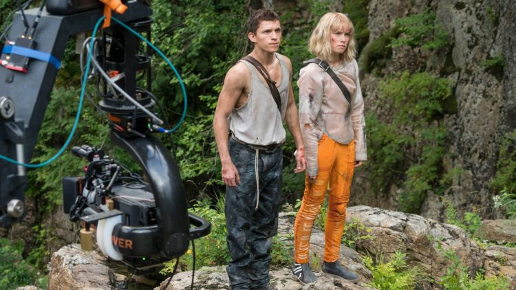 Chaos Walking : Tom Holland and Daisy Ridley