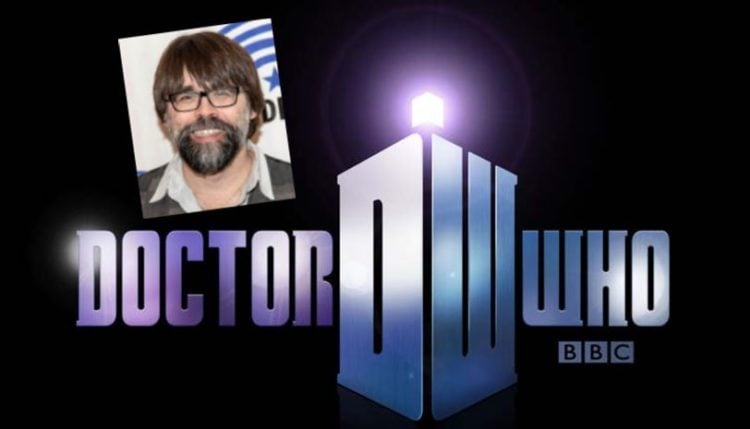 doctor who logo with joe hill insert