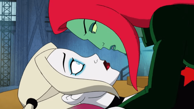 Harley Quinn and Catwoman animated series screen shot