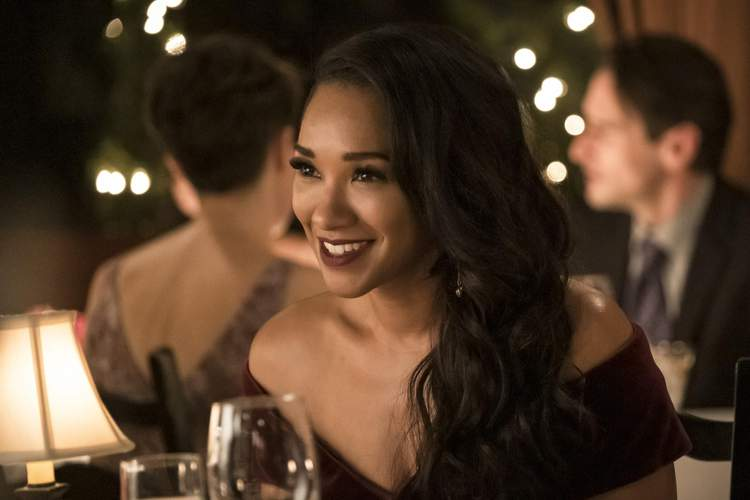 The Flash: Iris at dinner with Barry
