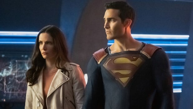 Superman & Lois : Tyler Hoechlin and Elizabeth Tulloch
