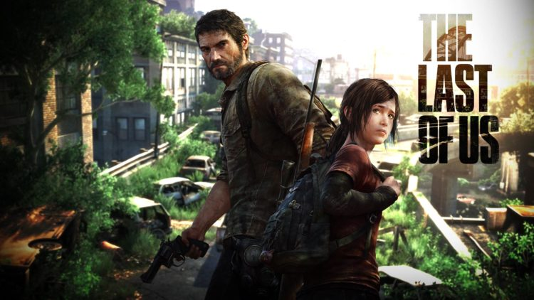The Last Of Us title screen