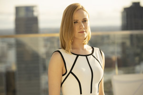 Evan Rachel Wood as Delores in Westworld