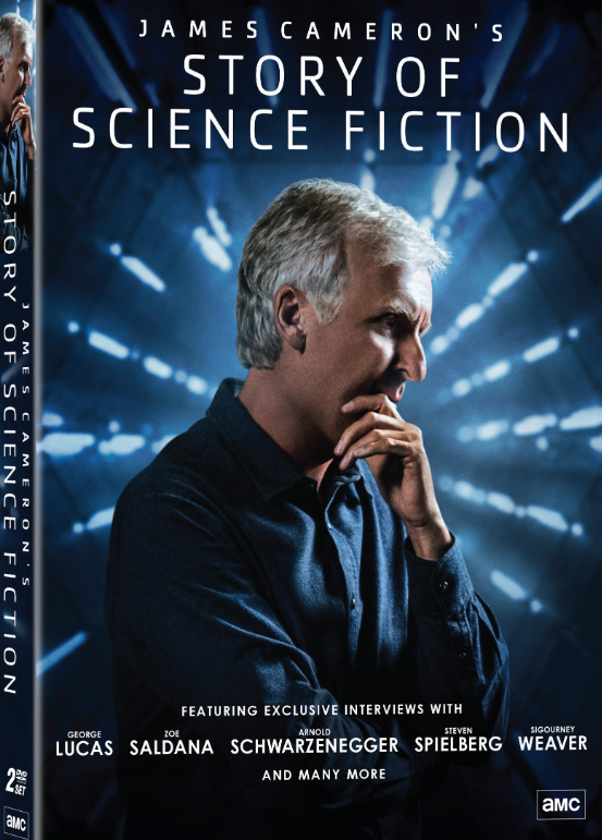 Cover of James Cameron DVD